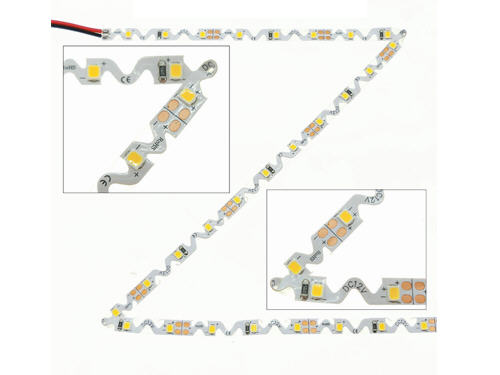 bendable led strip, S shape led strip, Snake led strip